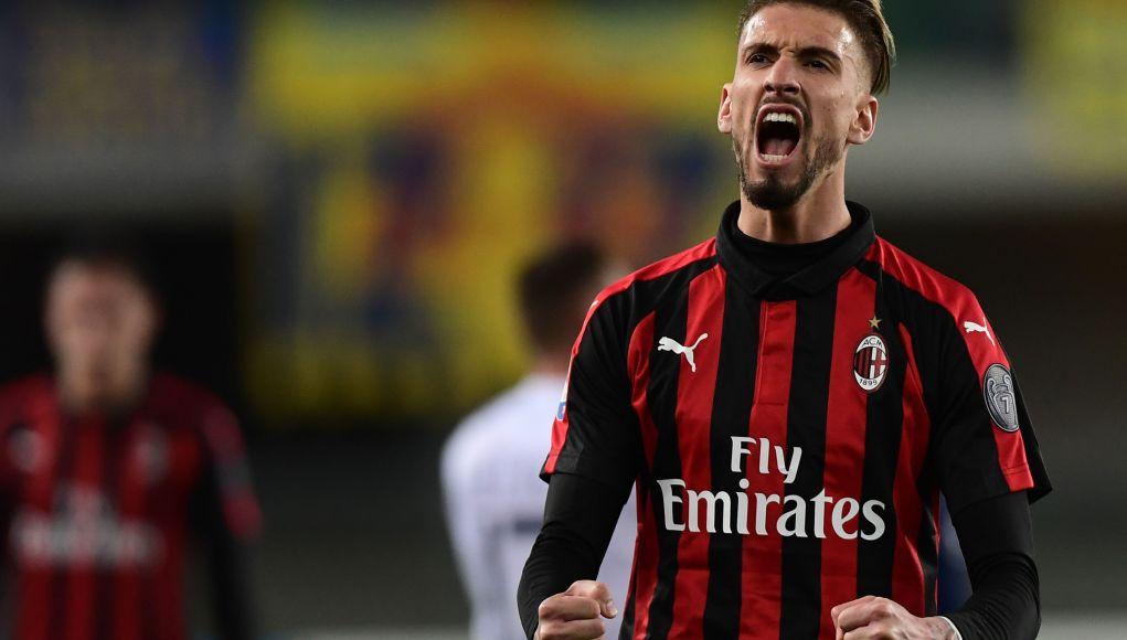 AC Milan's Spanish forward Samuel Castillejo