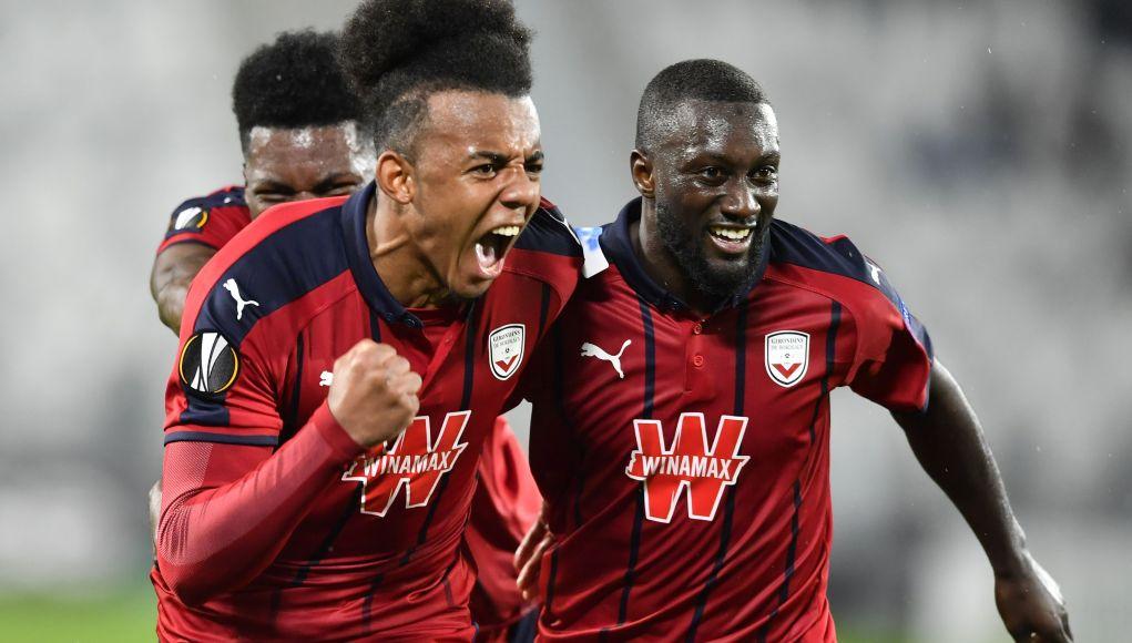 Bordeaux's French defender Jules Kounde