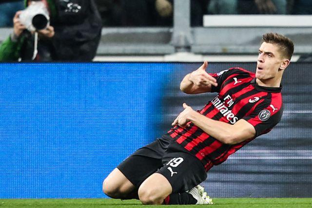 Piatek Milan Juventus