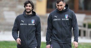 Mattia Perin and Gianluigi Donnarumma