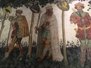 Castello della Manta affreschi