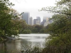 Central Park il Laghetto di New York