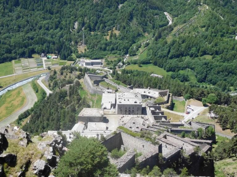 Forte di Fenestrelle gradini
