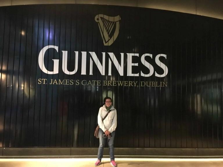 Visita alla Guinness storehouse di Dublino