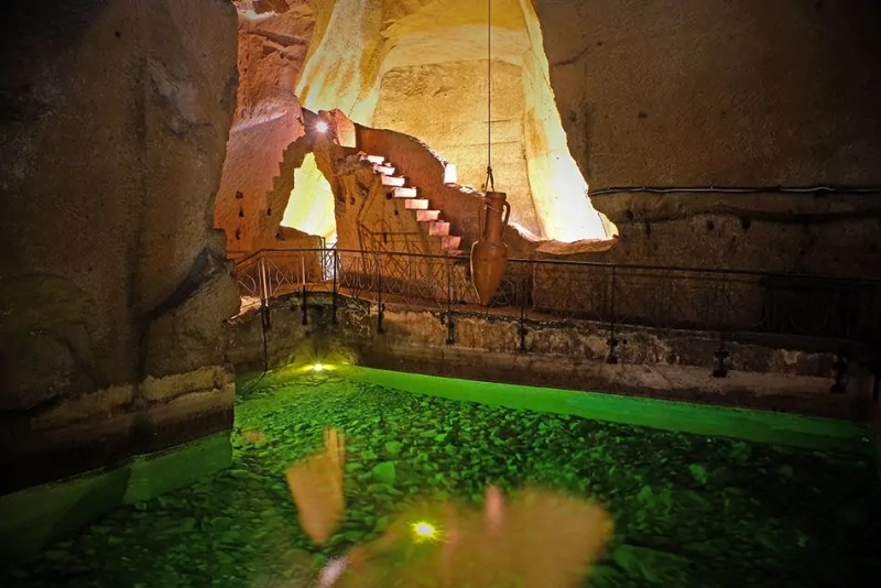 I pozzi delle Gallerie della Napoli sotterranea