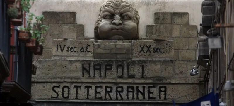 Ingresso alla Napoli sotterranea