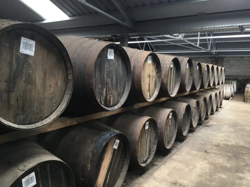 Cantina distilleria di Glen Moray
