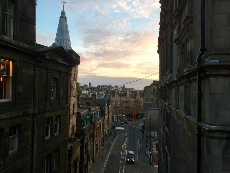 Panorama-della-città-di-Edimburgo