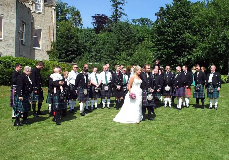 Matrimonio in kilt - Sempre pronta x partire