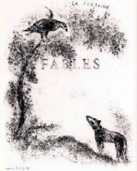 Le favole di LaFontaine realizzate da Chagall
