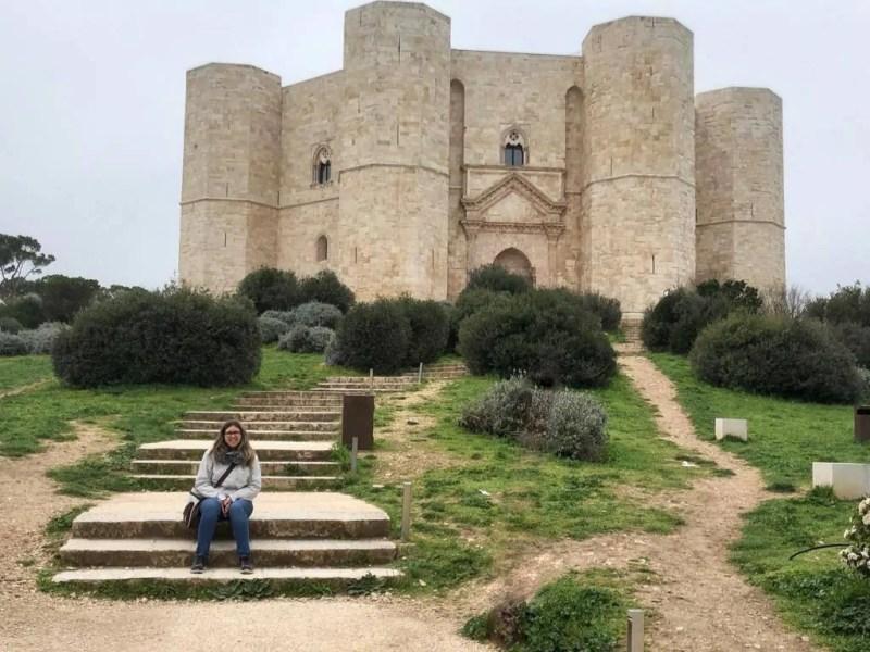 Ingresso a Castel del Monte