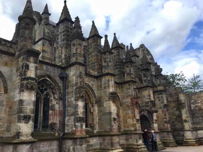 Esterno della Rosslyn Chapel