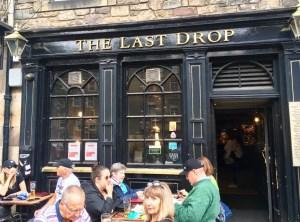 The last drop pub a Edimburgo