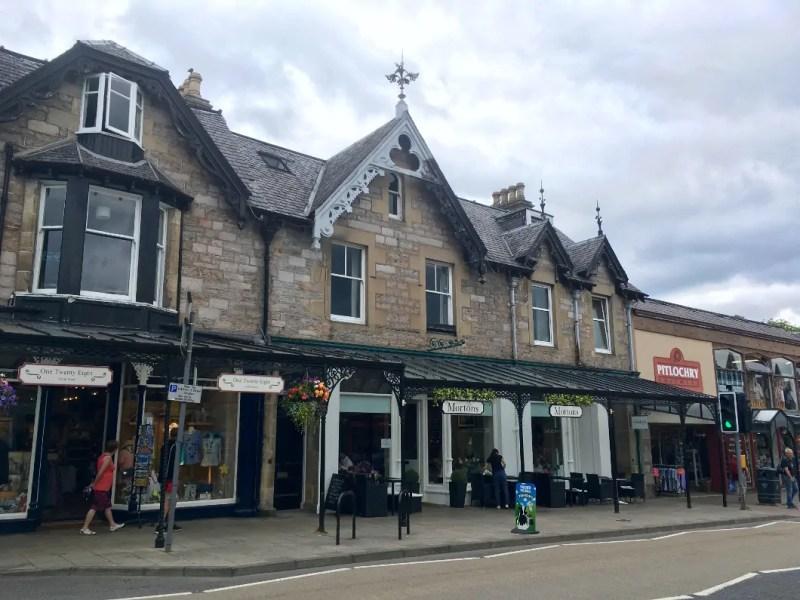 Pitlochry cittadina della scozia