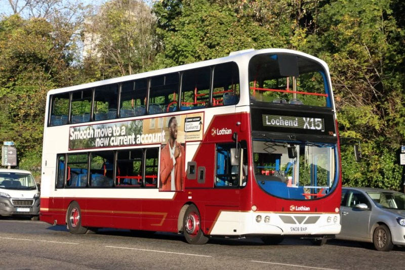 autobus in scozia