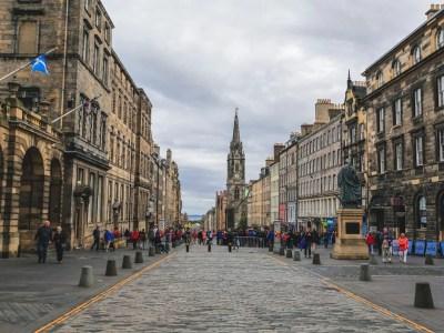 Royal Mile la via più famosa di Edimburgo