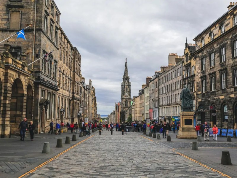 Royal Mile la via più famosa di Edimburgo