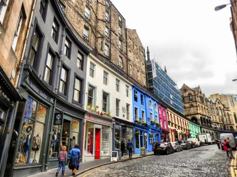 victoria street a edimburgo diagon alley