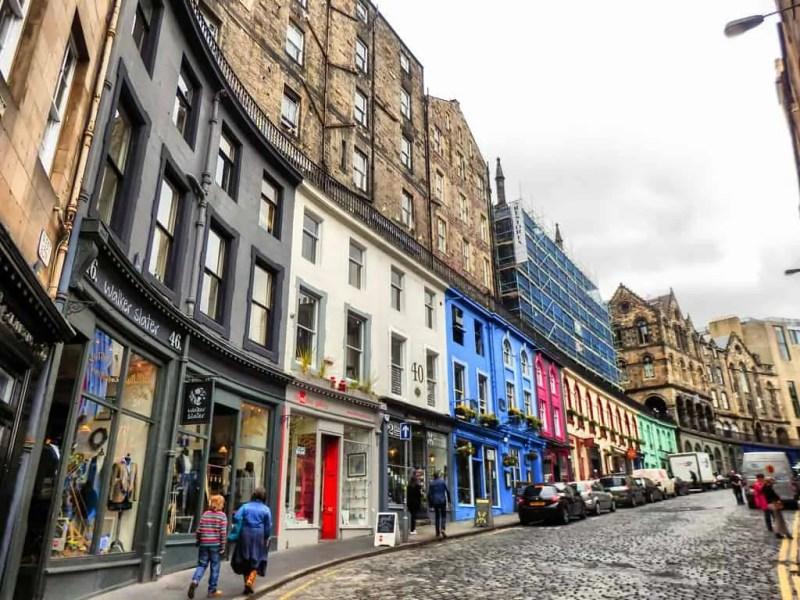 victoria street a edimburgo diagon alley