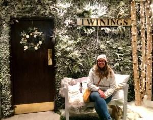 Il negozio di Twinings a Londra