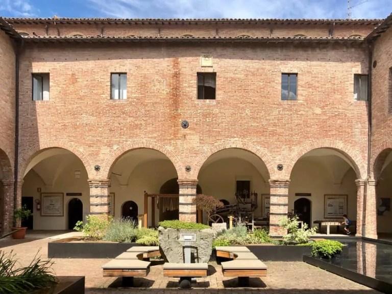 Interno museo della carta Fabriano