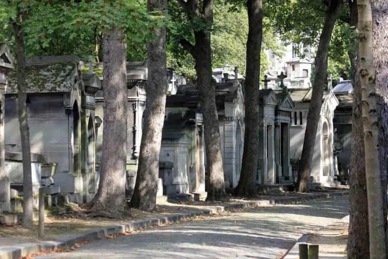 Il cimitero Père Lachaise di Parigi