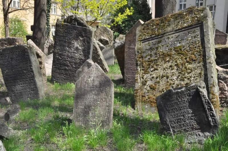 Il cimitero ebraico di Praga