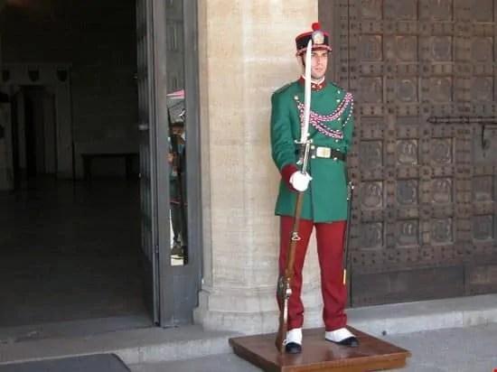 Guardia di San Marino e cambio della guardia