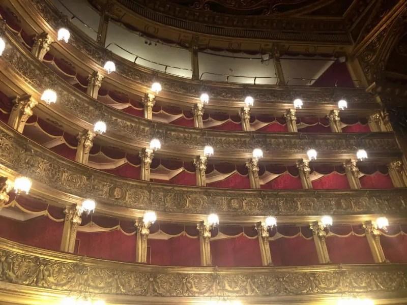 I palchetti del Teatro Carignano di Torino