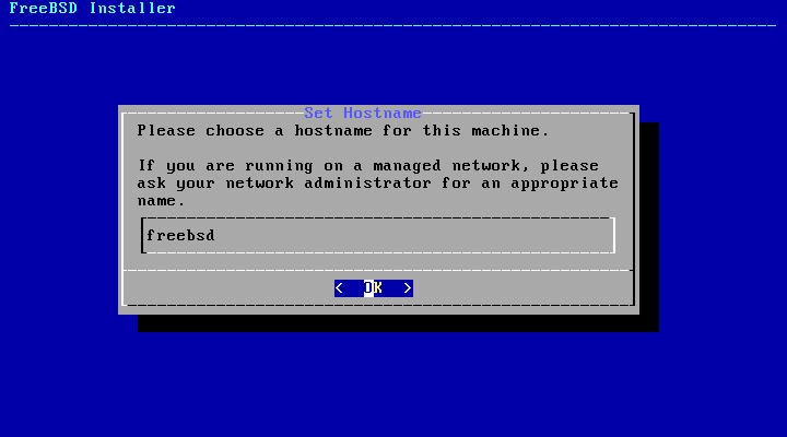 FreeBSD - Nome da máquina (hostname)