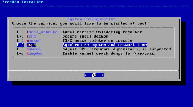 FreeBSD - configuração de NTP