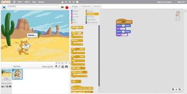 Como instalar o Scratch 2.0 no Ubuntu e derivados