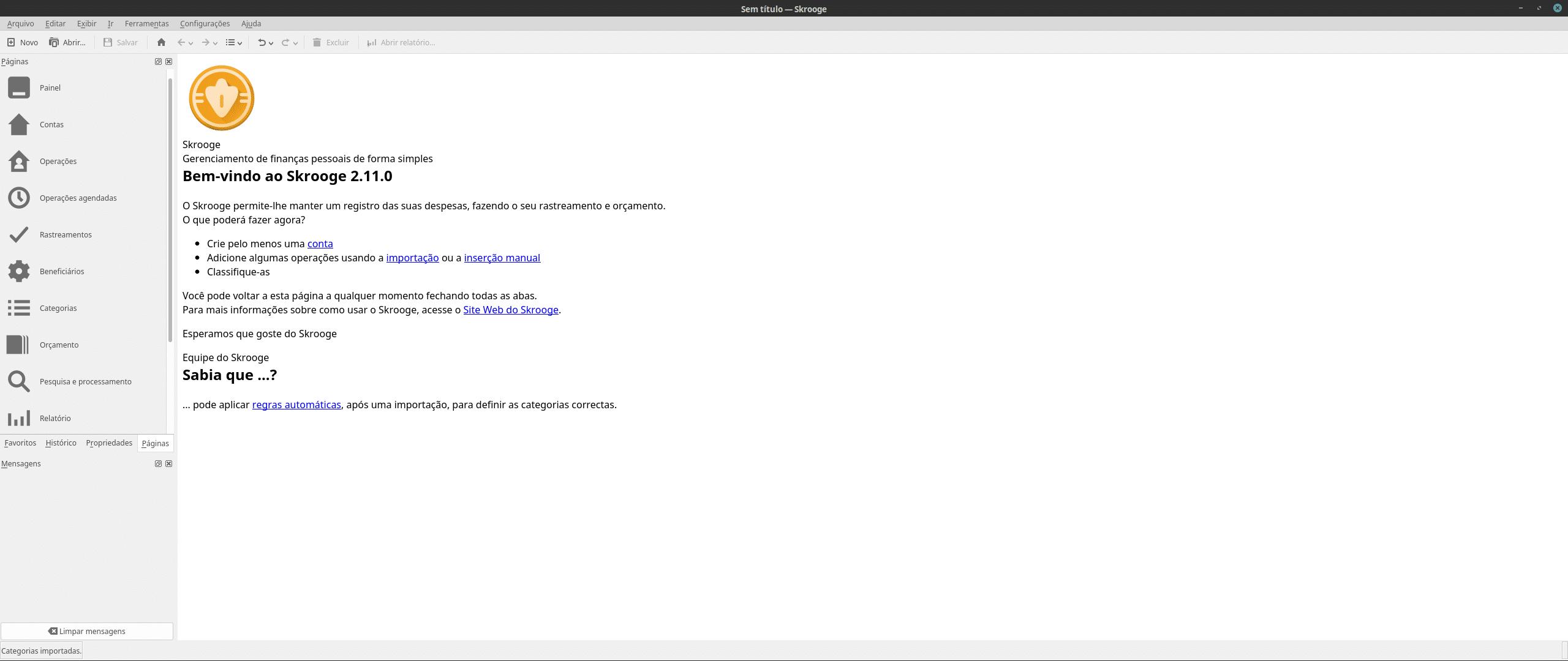Como Instalar Skrooge No Ubuntu Debian Fedora Opensuse Arch Linux
