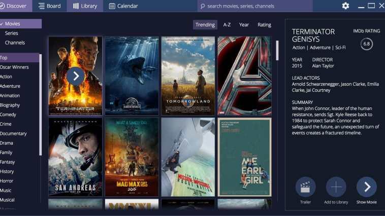 Stremio - Uma outra opção Open Source para Netflix.
