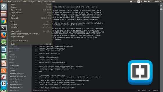 Como instalar o Brackets no Ubuntu