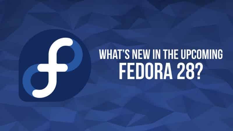 Fedora Workstation 28