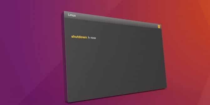 Como desligar o Ubuntu pelo Terminal: exemplos do comando Shutdown no Linux