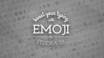Melhorar a digitação usando emojis no Fedora 28