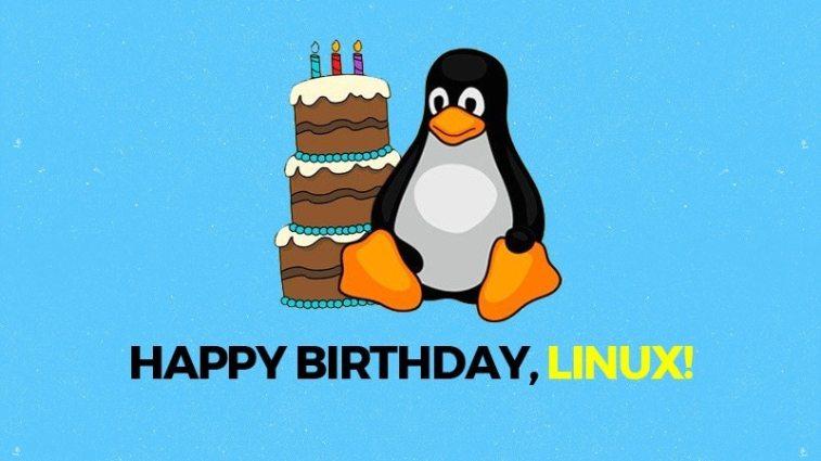 Feliz aniversário, Linux
