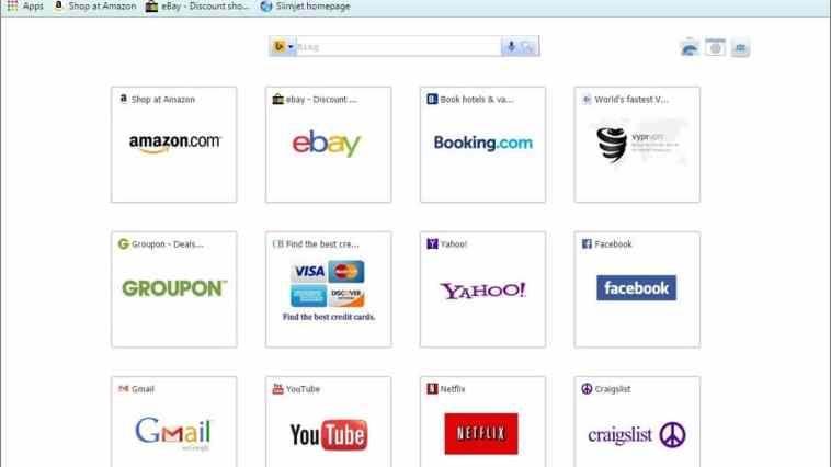 navegador web Slimjet