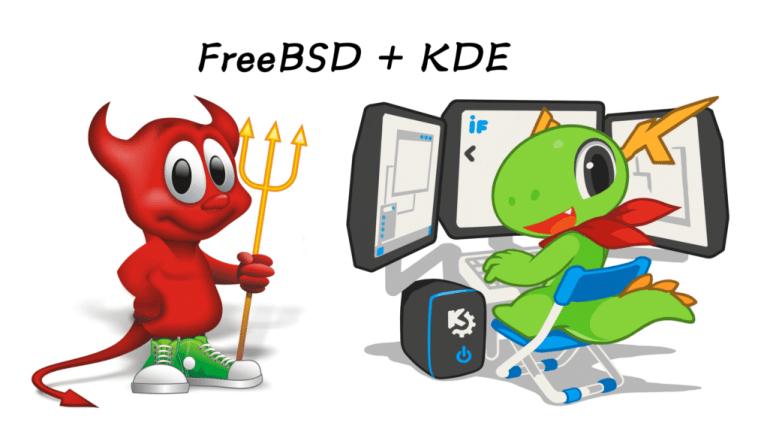 Instalar o KDE Plasma no FreeBSD | SempreUPdate