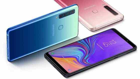 Samsung lança primeiro celular do mundo com quatro câmeras