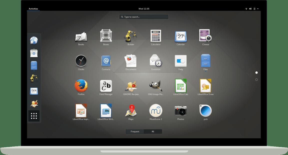 GNOME tem melhorias para touchpad e em tablets