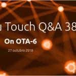 Ubuntu Touch OTA-6 da UBports está planejado para novembro