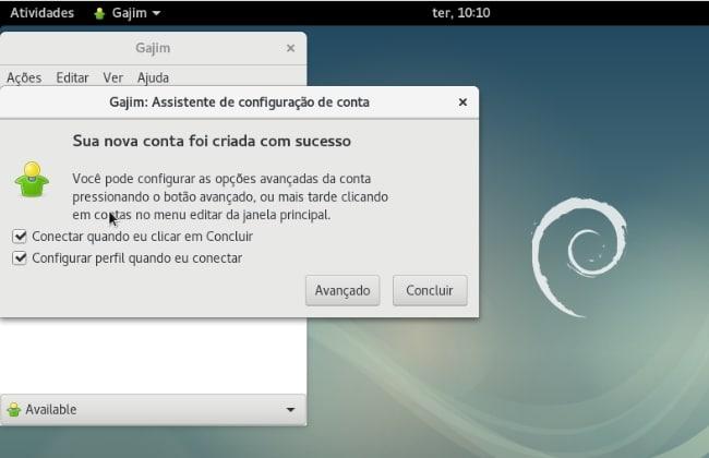 005 - Instalando cliente XMPP no Debian
