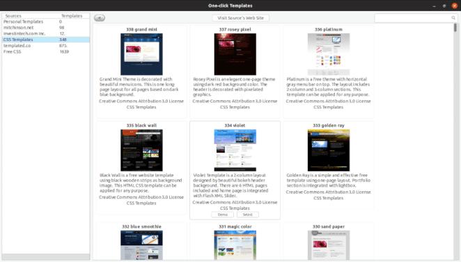 Duas alternativas para criar sites no Linux