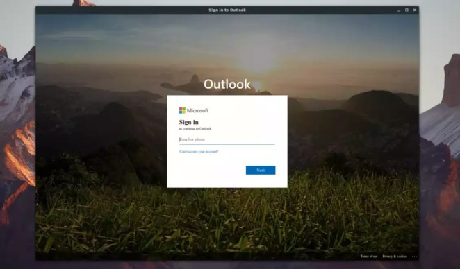 Como usar o e-mail do Outlook no Linux