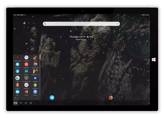 Bliss OS agora permite executar o Android 10 no seu PC