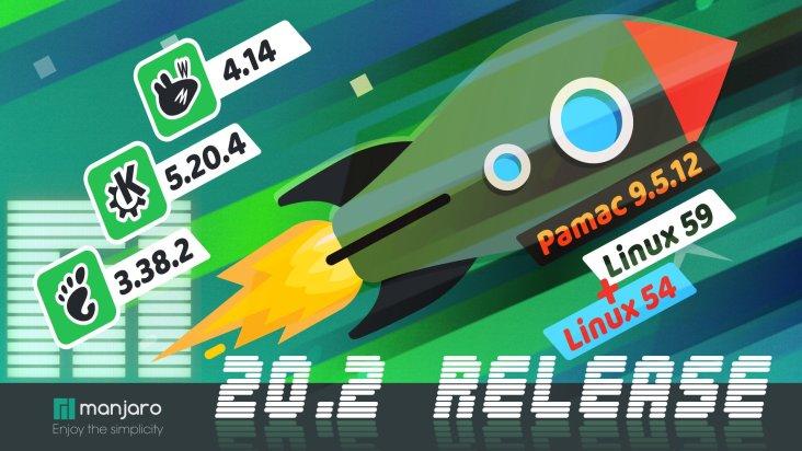 """Manjaro 20.2 """"Nibia"""" lançado com Linux Kernel 5.9, KDE Plasma 5.20 e GNOME 3.38"""