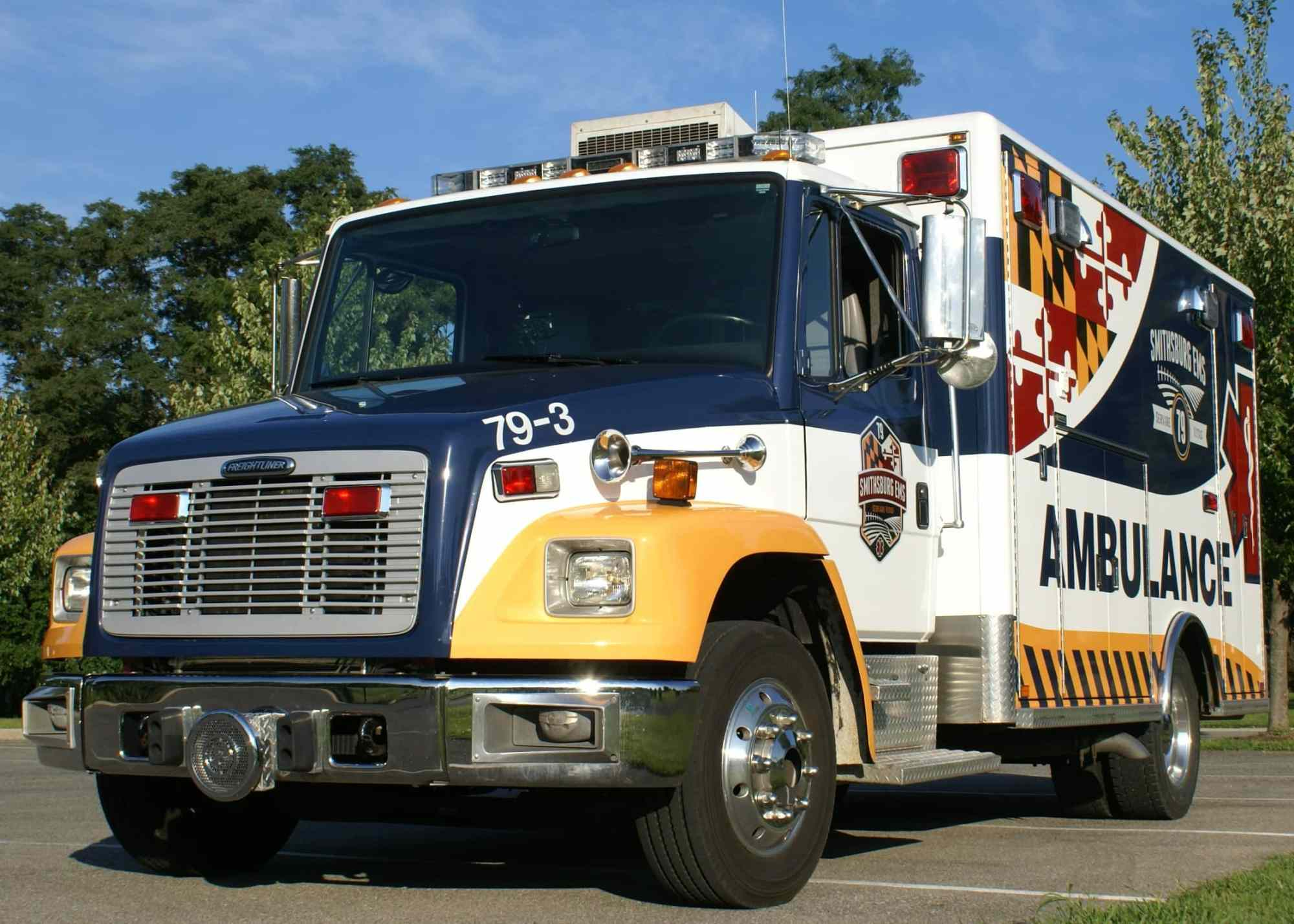 hight resolution of for sale 2001 freightliner horton ambulance